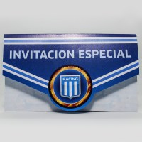 RACING INVITACION