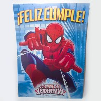 SPIDERMAN AFICHE FELIZ CUMPLE5