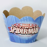 SPIDERMAN CUBRE CUPCAKE