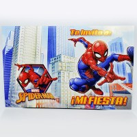 SPIDERMAN INVITACION